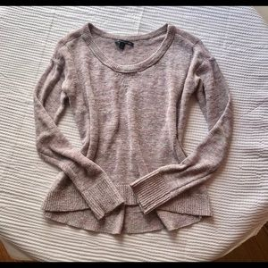 American Eagle Outfitters Crew Neck Pink Sweater